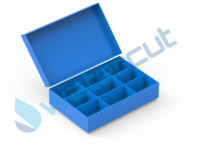 BOX WITH CELL DIVIDER